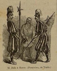 03 Le Rire 1er décembre 1894 Zola à Rome 02
