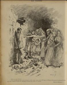 06 Le Rire 05 janvier 1895 Dreyfus Le traître