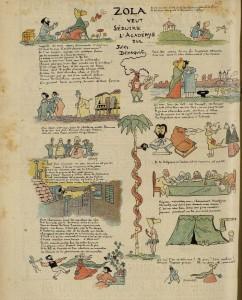 09 Le Rire 25 avril 1896 Zola veut séduire l'Académie