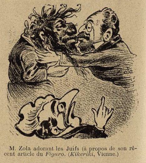 Image - M. Zola adorant les Juifs