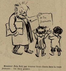 16 Le Rire 25 décembre 1897 Zola et la jeunesse
