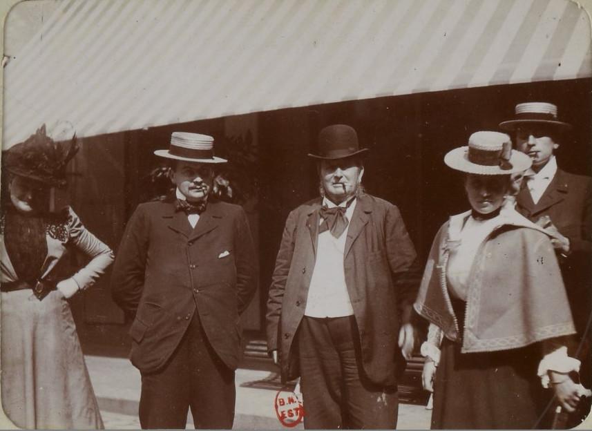 Image - Edgar Demange et sa famille