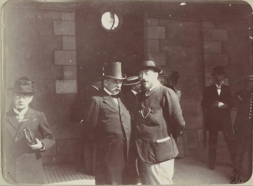 Image - Le commandant Cordier et Philippe Dubois