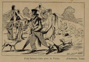 26 Le Rire 12 février 1898 Zola et la Vérité