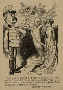 27 Le Rire 12 février 1898 Affaire Dreyfus vue de l'étranger