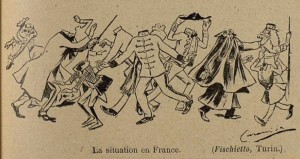 28 Le Rire 12 février 1898 La situation en France