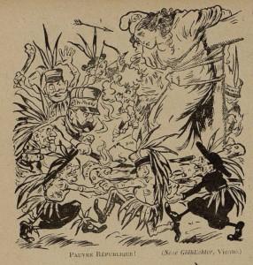 35 Le Rire 26 février 1898 Pauvre République