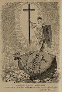37 Le Rire 5 mars 1898 Tableau final du procès Zola