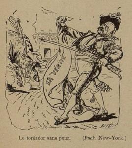 39 Le Rire 5 mars 1898 Toréador sans peur
