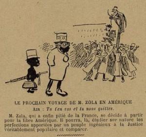 43 Le Rire 16 avril 1898 Zola en Amérique