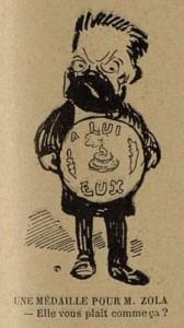 44 Le Rire 19 mars 1898 Une médaille pour Zola