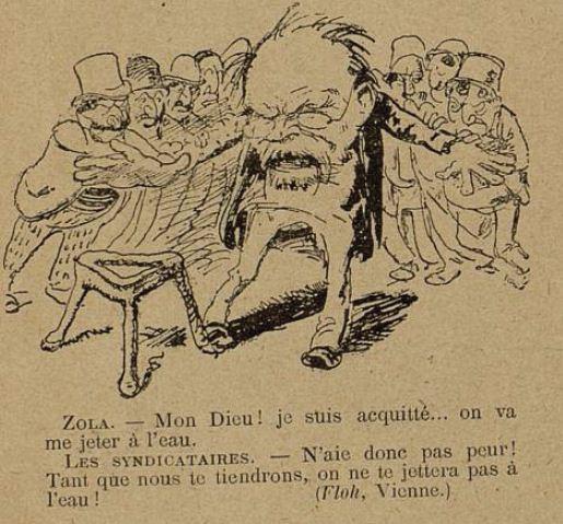 Image - Zola et les syndicataires