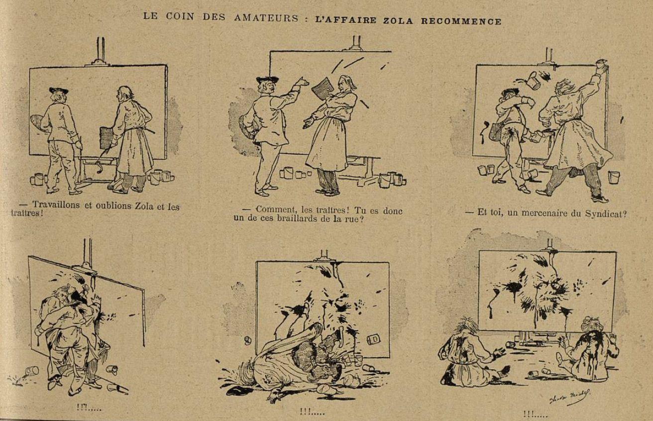 Image - L'Affaire Zola recommence