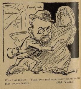 62 Le Rire 13 août 1898 Zola à la justice