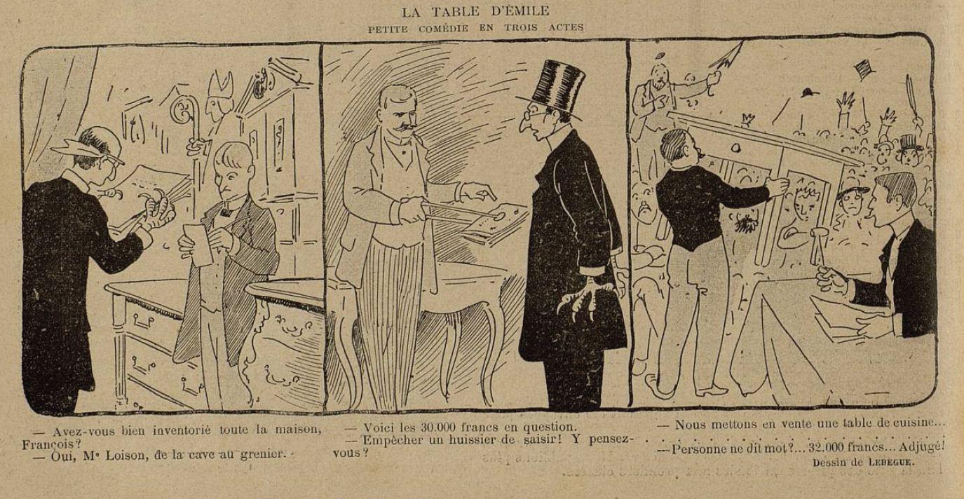Image - La table d'Emile Zola