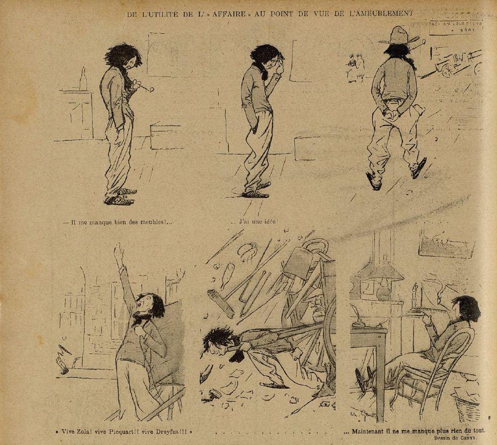 Image - Se meubler grâce à l'Affaire Dreyfus