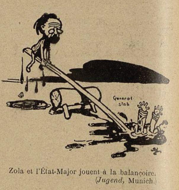 Image - Zola et l'Etat-Major jouent à la balançoire