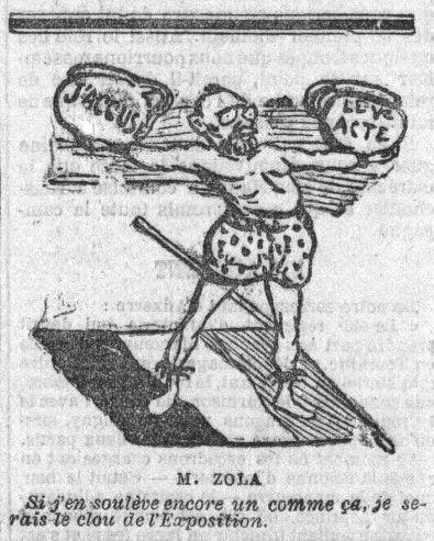 Image - M. Zola - Le cinquième acte