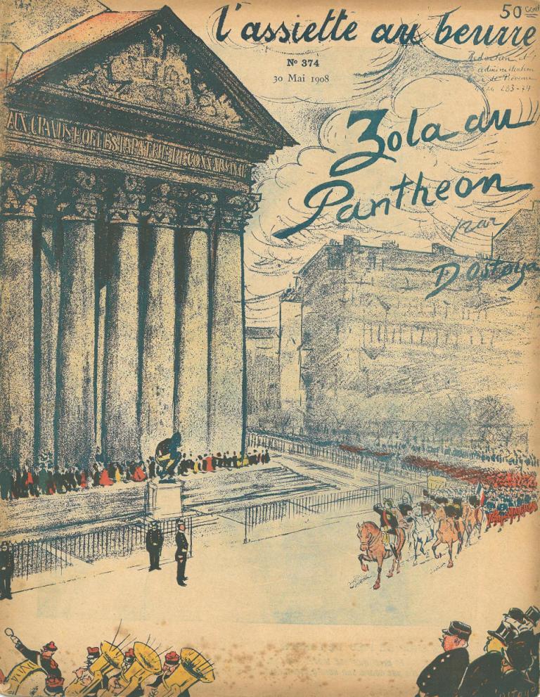 Image - Le Panthéon accueille Emile Zola