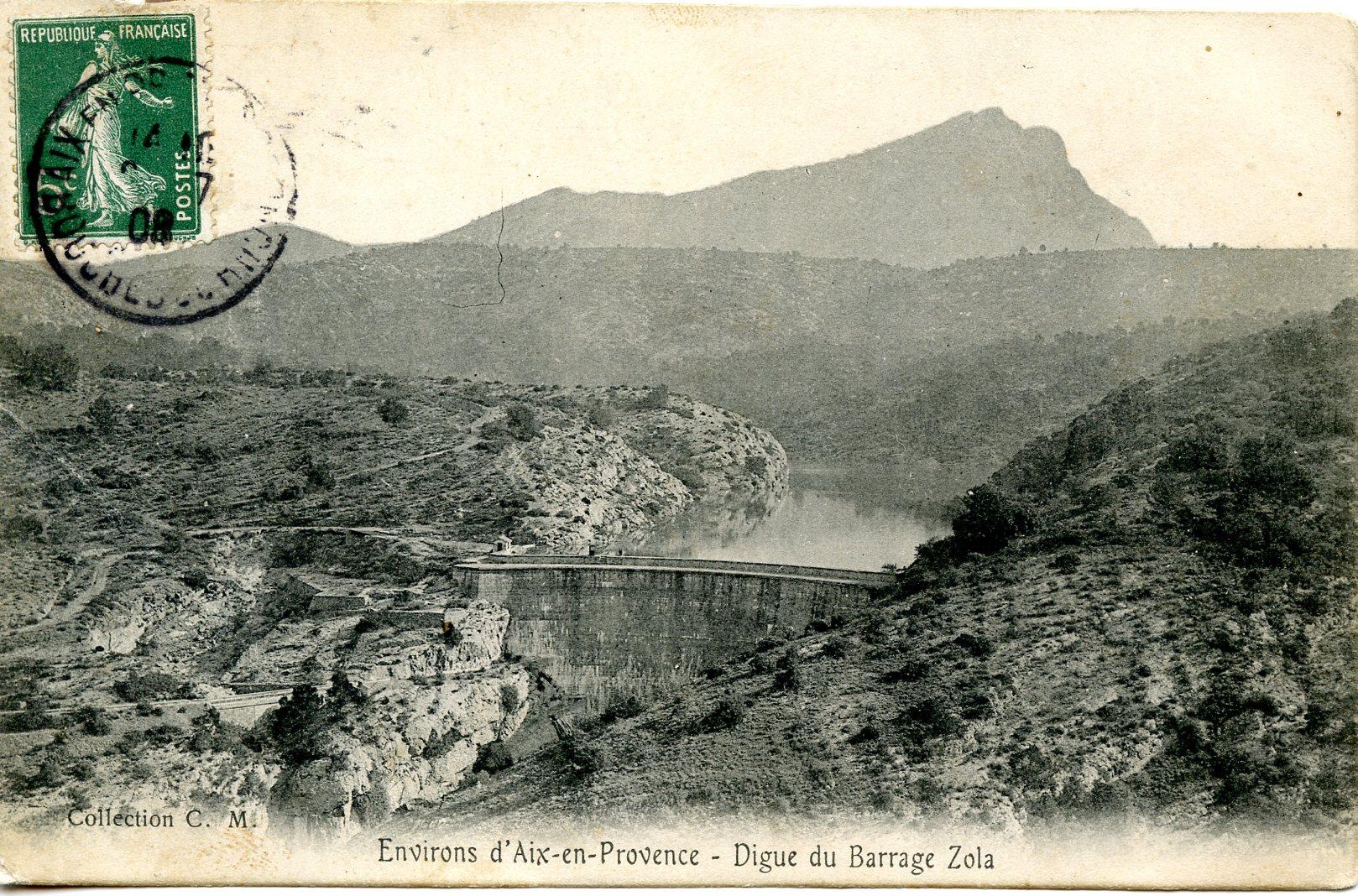 Image - Le barrage Zola, près d'Aix-en-Provence