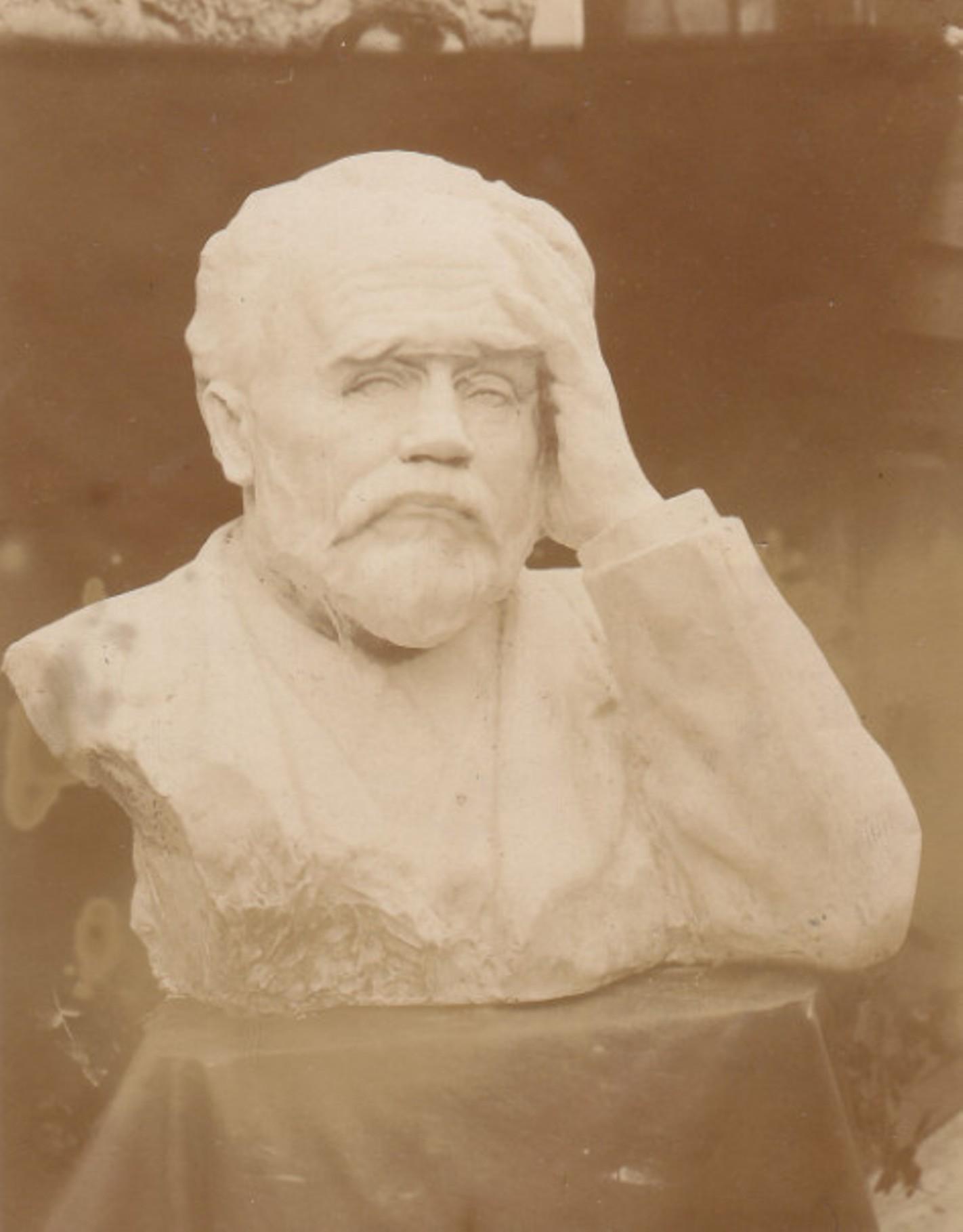 Image - Buste d'Emile Zola