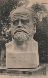 CP 272 Buste de Zola
