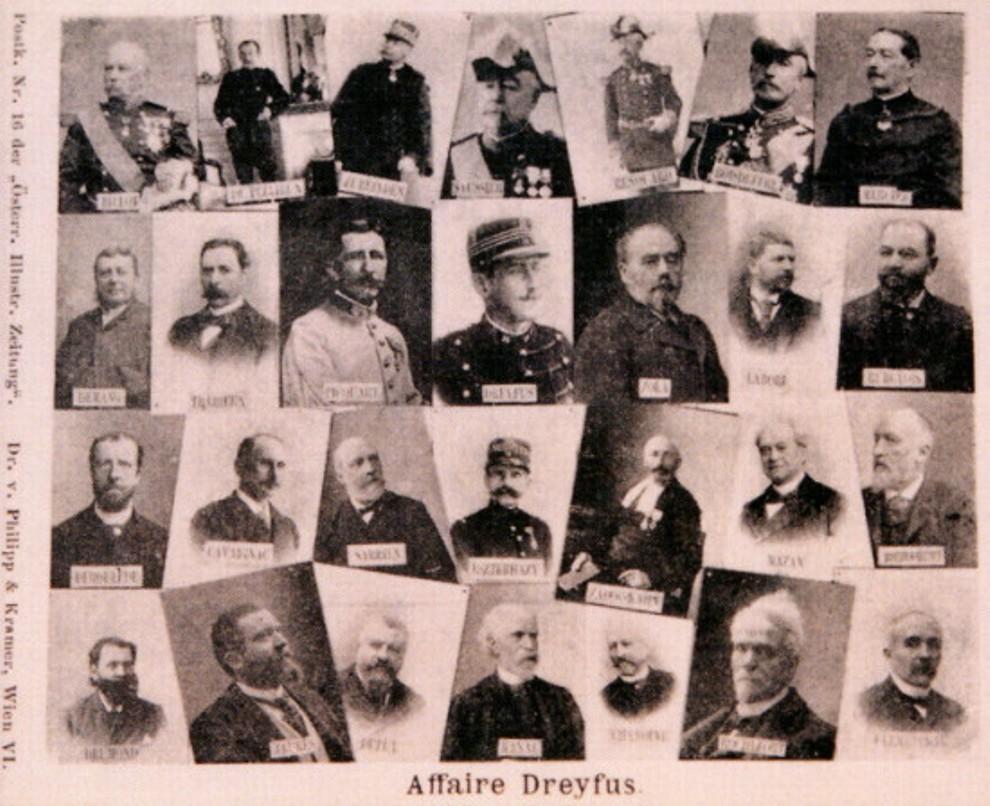 Image - Les acteurs de l'affaire Dreyfus