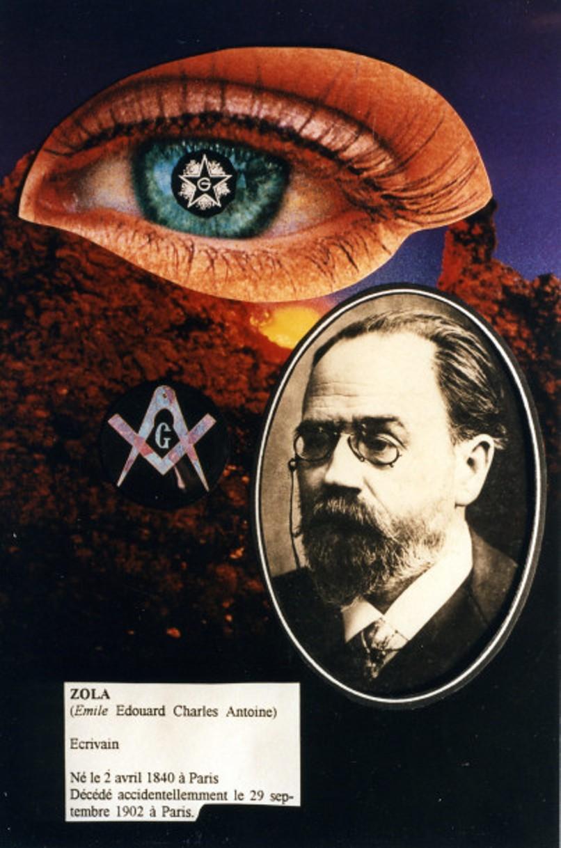 Image - Emile Zola et la franc-maçonnerie