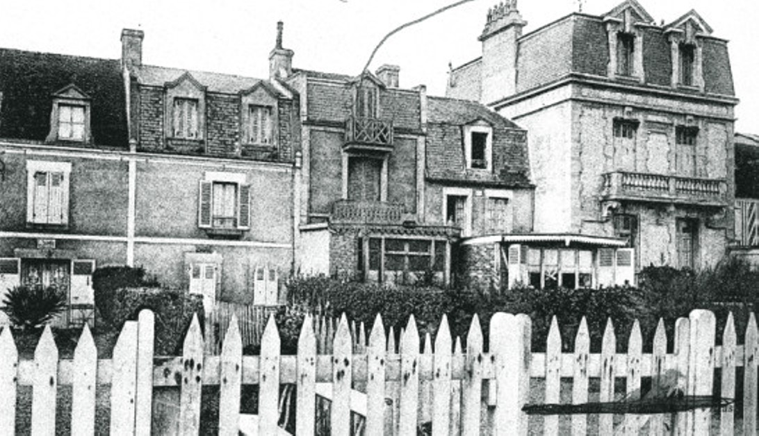 Image - Rue de Saint-Aubin-sur-Mer où Zola séjourna