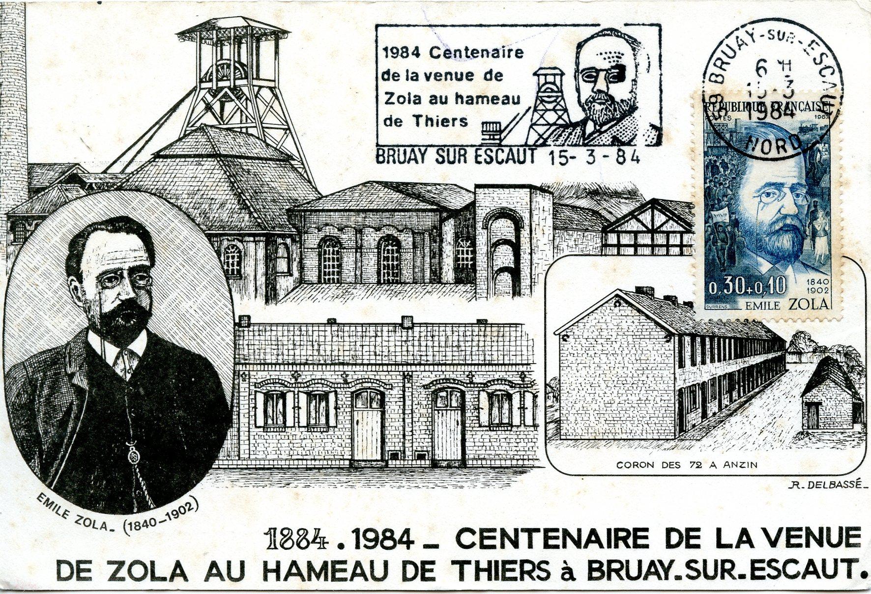 Image - Centenaire de la venue de Zola au hameau de Thiers, à Bruay-sur-Escaut