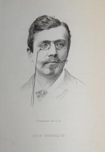 Léon Hennique par Desmoulin