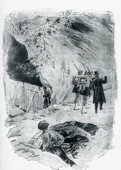 Image - La Grotte fermée par une palissade