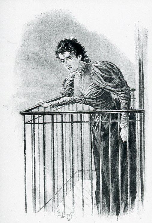 Image - Mme Volmar sur le balcon