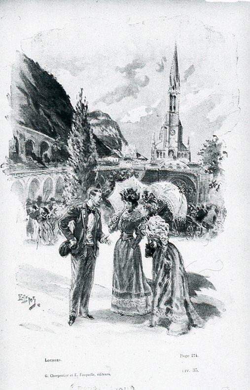 Image - Mme Désagneaux, Raymonde de Jonquière et Gérard de Peyrelongue