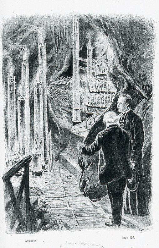 Image - Les cierges de la Grotte