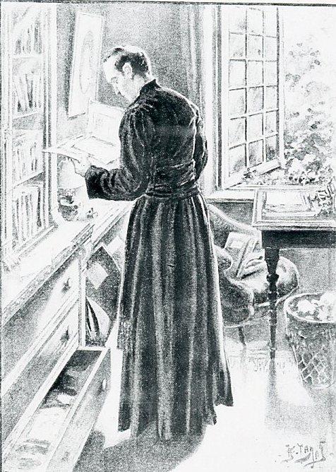 Image - Pierre Froment découvre un dossier sur les apparitions de Lourdes