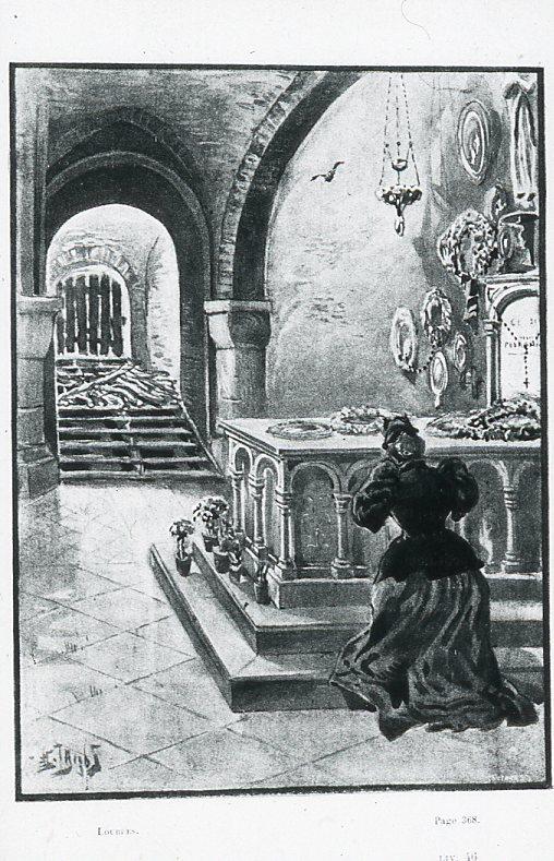 Image - Une dame en prière
