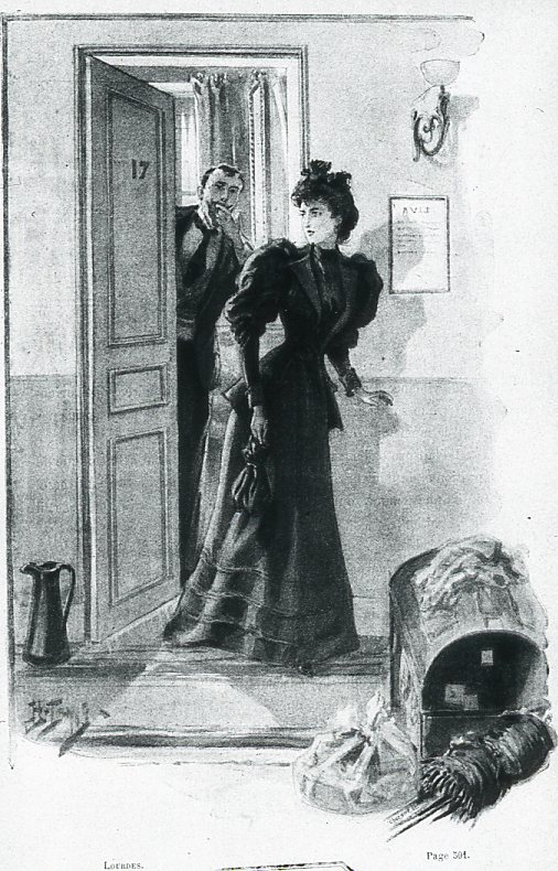 Image - Mme Volmar sortant de la chambre