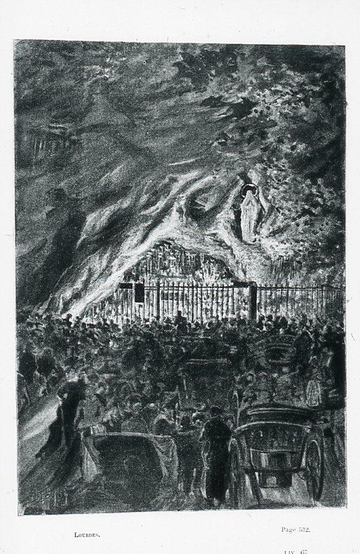 Image - Défilé devant la Grotte