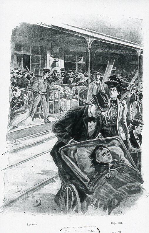 Image - Le départ du train blanc