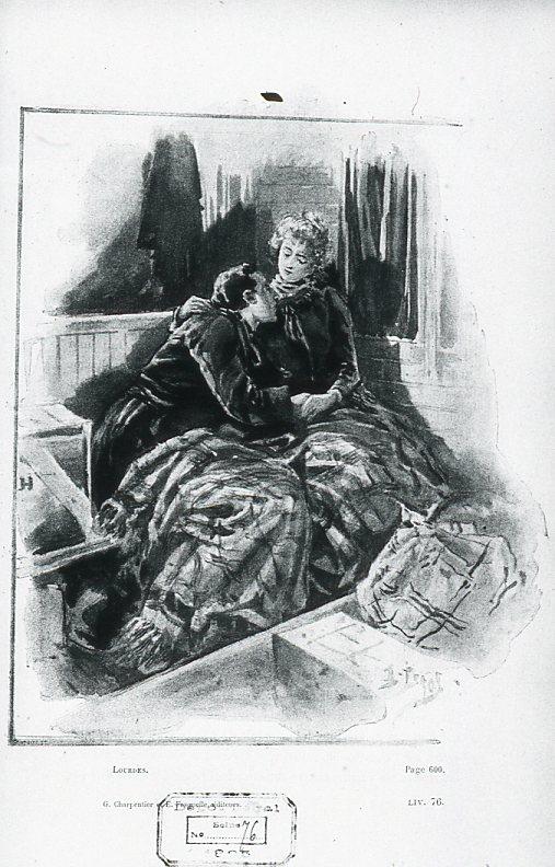 Image - Pierre et Marie dans le train du retour