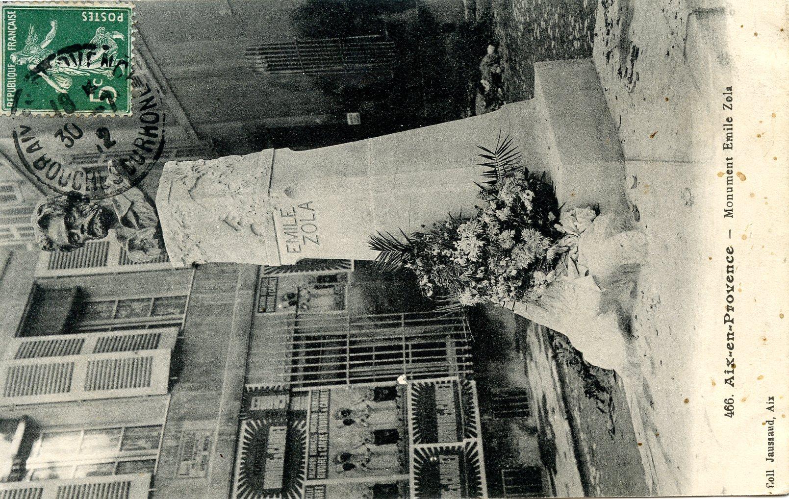 Image - Monument Emile Zola, Aix-en-Provence