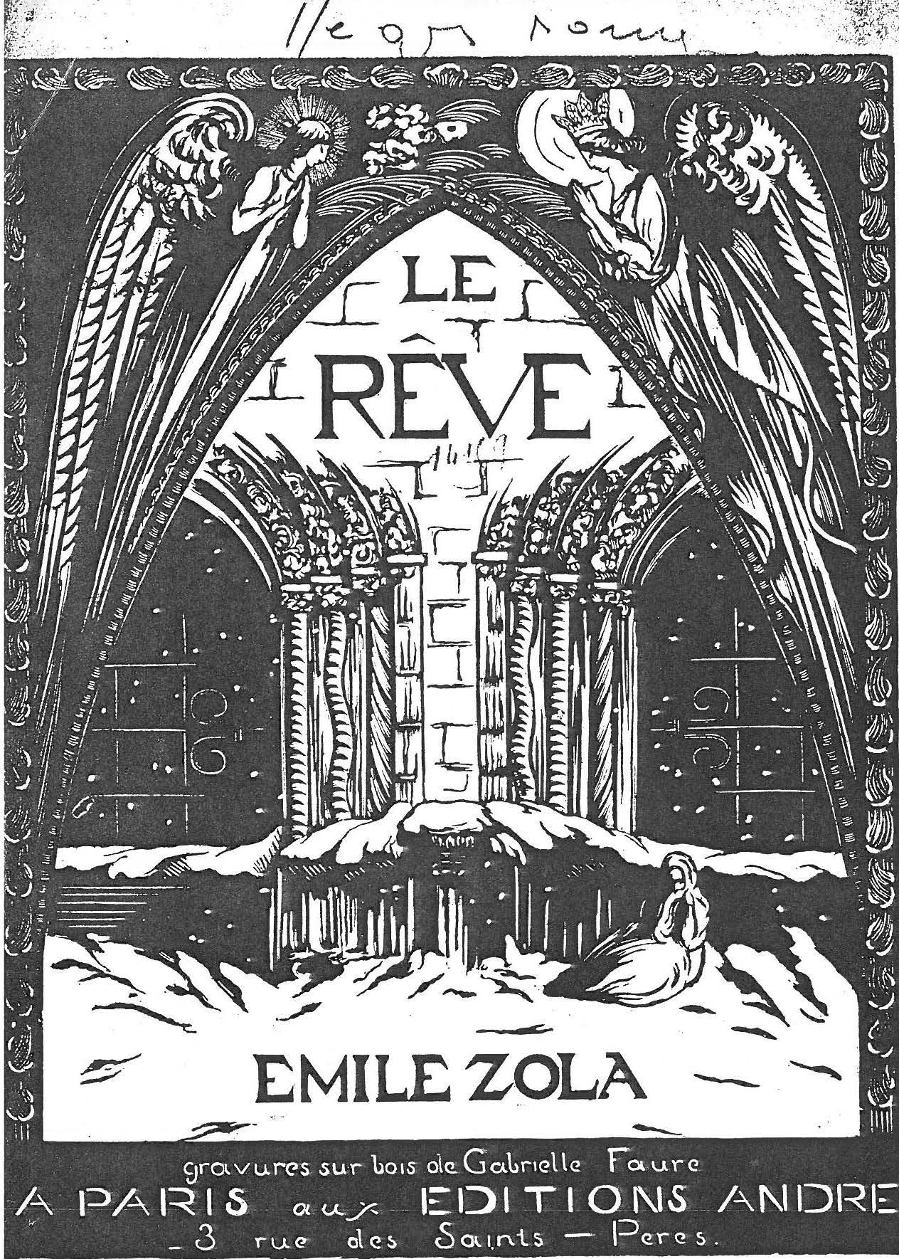 Image - Angélique devant la porte de Sainte-Agnès