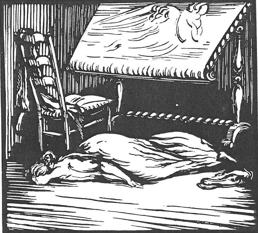 Image - Angélique évanouie au sol