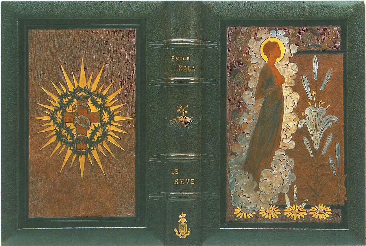 """Image - Reliure pour <em>Le Rêve</em>"""" /></a></p> </div><h3>Commentaires</h3><p>Charles Meunier réalise cette reliure pour <em>Le Rêve, </em>illustré en 1891 par Carlos Schwabe. Il s'agit de panneaux de cuir incisé et colorié d'après l'aquarelle de Carlos Schwabe (d'après <em>Carlos Schwabe, symboliste et visionnaire, </em>Jean-David Jumeau-Lafond, 1994, p. 34).</p><h3>Auteur</h3><p>Meunier Charles</p><h3>Date</h3><p>1892</p><h3>Origine</h3><p>Collection Sutton Place Foundation</p><h3>Mots-clés</h3><ul class="""