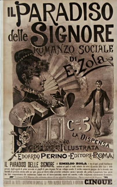 Image - Affiche pour la traduction d'<em>Au Bonheur des Dames</em> en Italie» /></a></p> </div><!-- .entry-content -->  <header class=