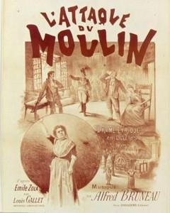 affiche L'Attaque du moulin opéra