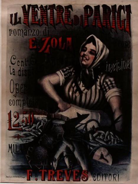 Image - Affiche pour la parution du <em>Ventre de Paris</em> en Italie» /></a></p> </div><!-- .entry-content -->  <header class=