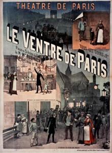 affiche Le Ventre de Paris au théâtre