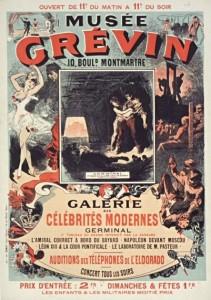 affiche Musée Grévin
